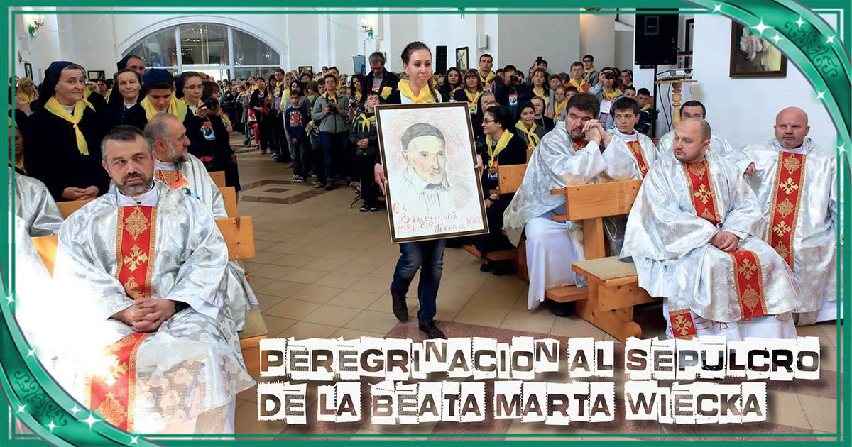 Peregrinación al sepulcro de la beata Marta Wiecka