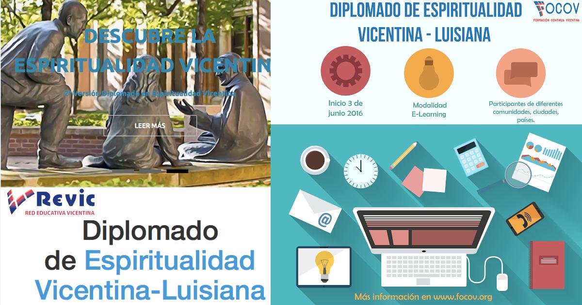 Diplomado de Espiritualidad Vicenciana REVIC/FOCOV se inicia en segunda versión