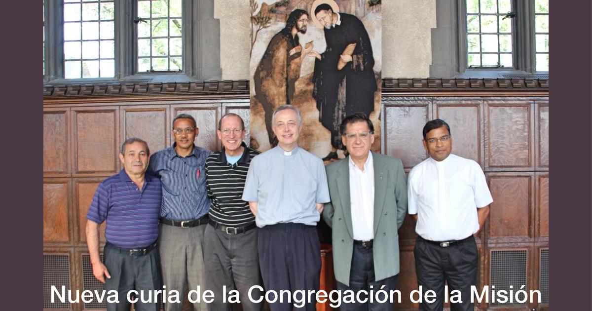 Nueva curia de la Congregación de la Misión