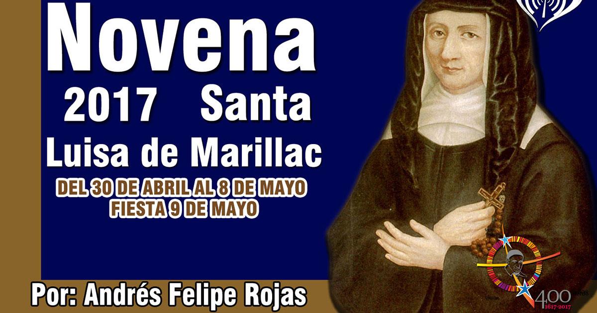 Novena a Santa Luisa de Marillac, día 1