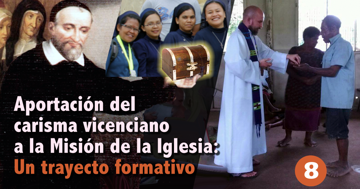 """¡Nos lo enseñó el Padre Vicente! • """"Aportación"""" nº 8"""