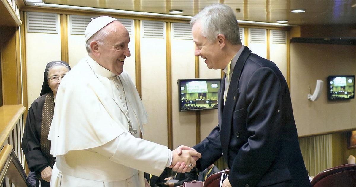 Encuentro de Tomaž Mavrič, Superior General de la Congregación de la Misión, con el Papa