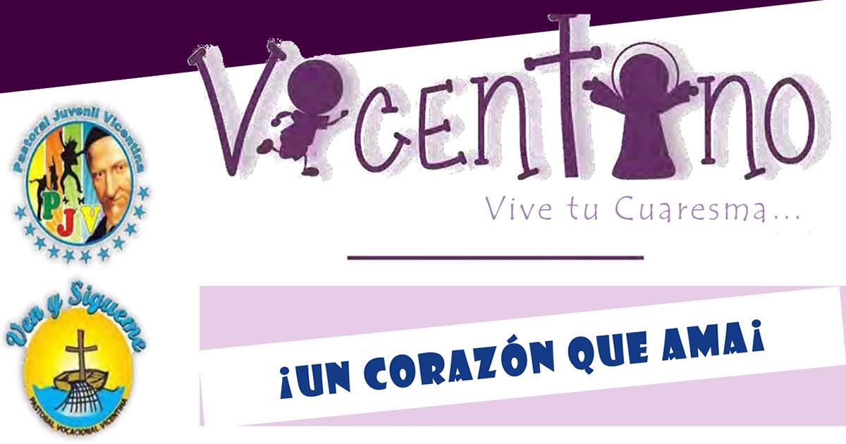Vicentino: ¡vive tu Cuaresma! (fichas para jóvenes)