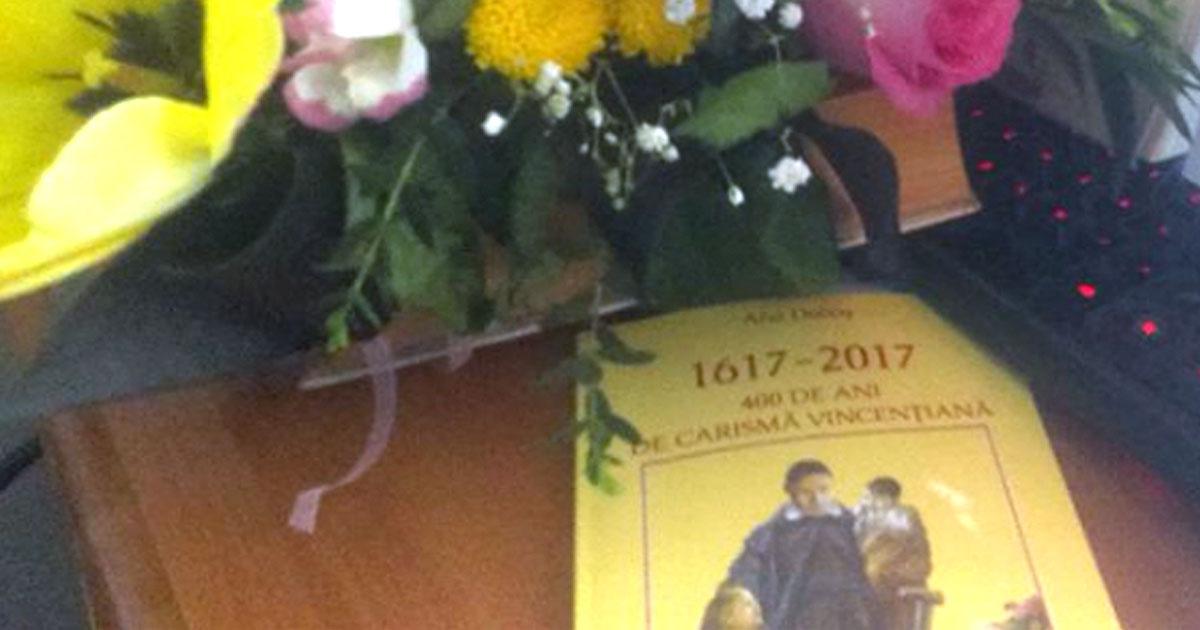 """""""400 años del Carisma Vicenciano"""": libro publicado en Rumanía #famvin400"""