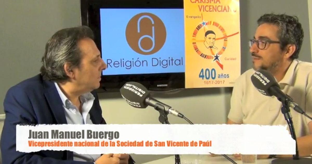 Entrevista a D. Juan Manuel Buergo, vicepresidente de la SSVP en España
