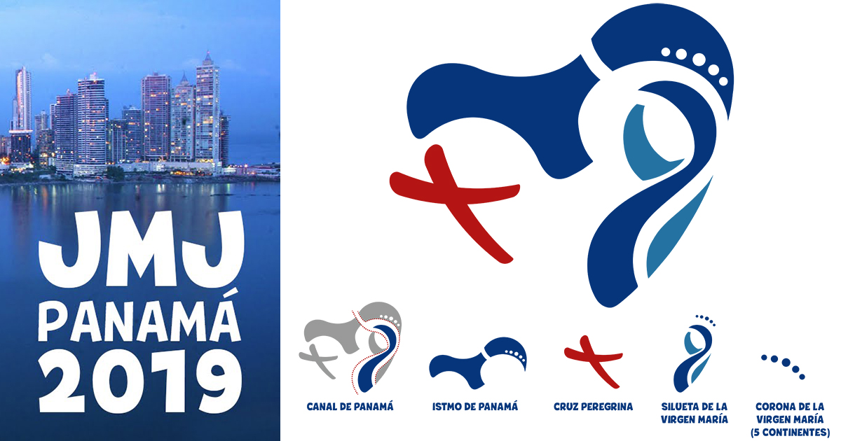 se present243 el logo de la jornada mundial de la juventud