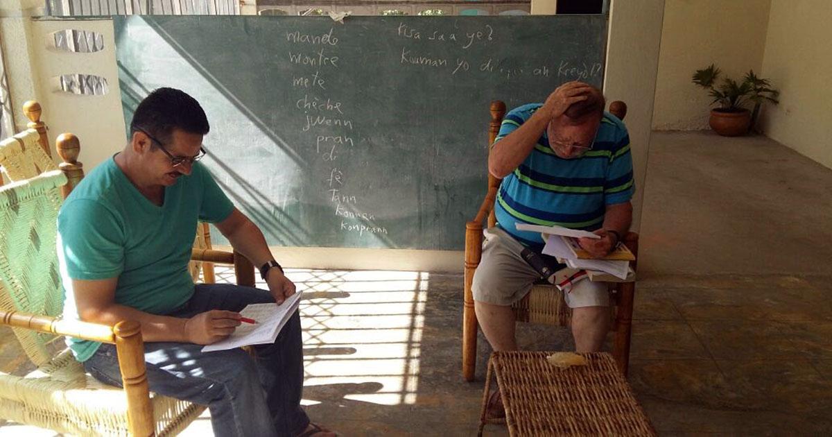 Dos miembros del Cenáculo Misionero, destinados a Haití