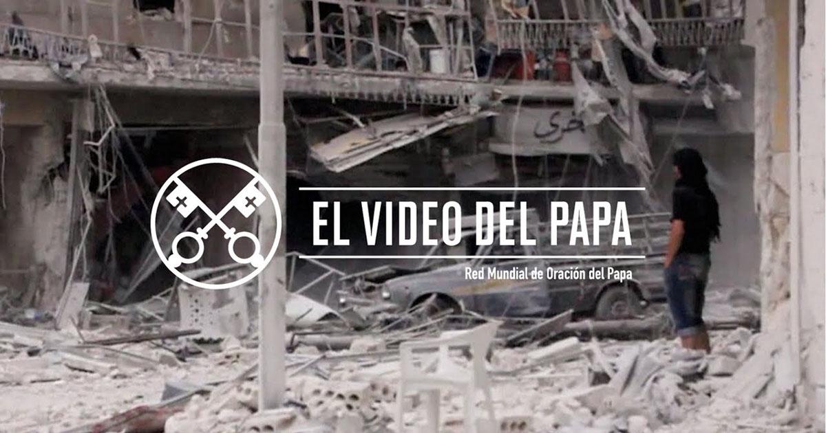 """""""El vídeo del Papa"""" (18): Eliminar el comercio de armas (junio de 2017)"""