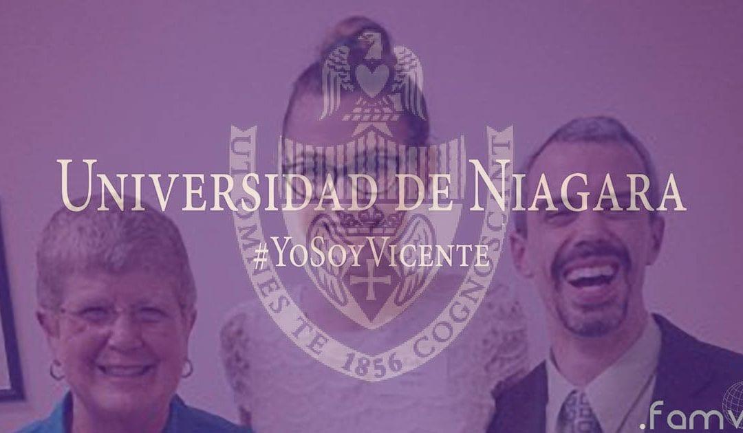 Dos Estudiantes Vicencianos Homenajeados @NiagarUniv