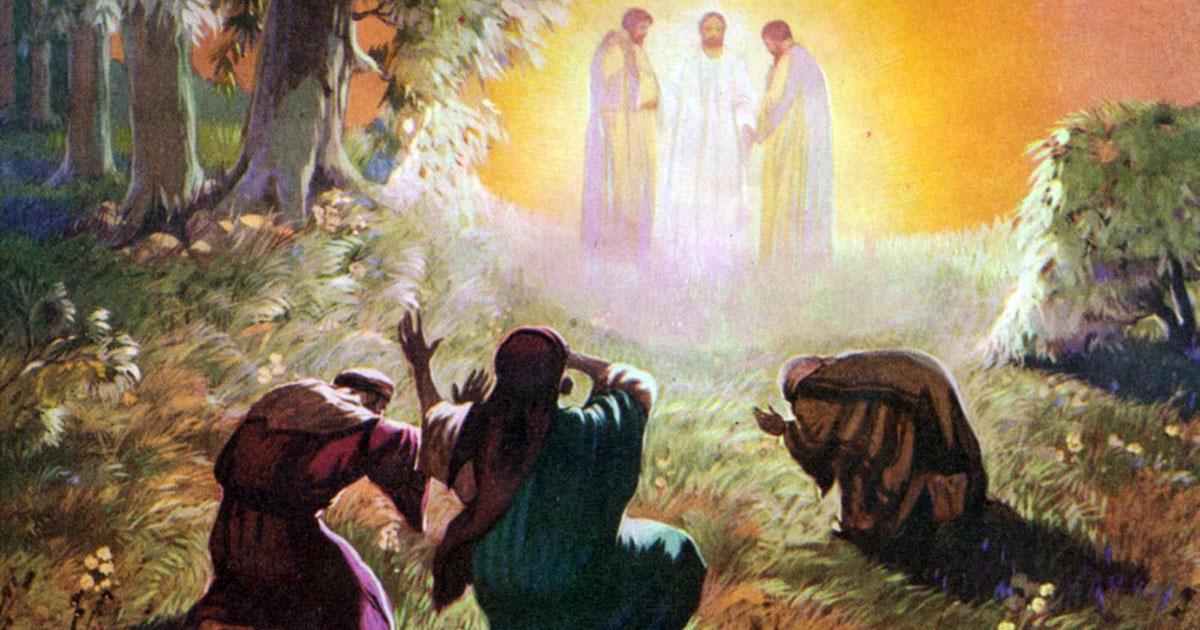 Jesús creía en los mitos del Antiguo Testamento - Página 2 Transfiguracion-fb