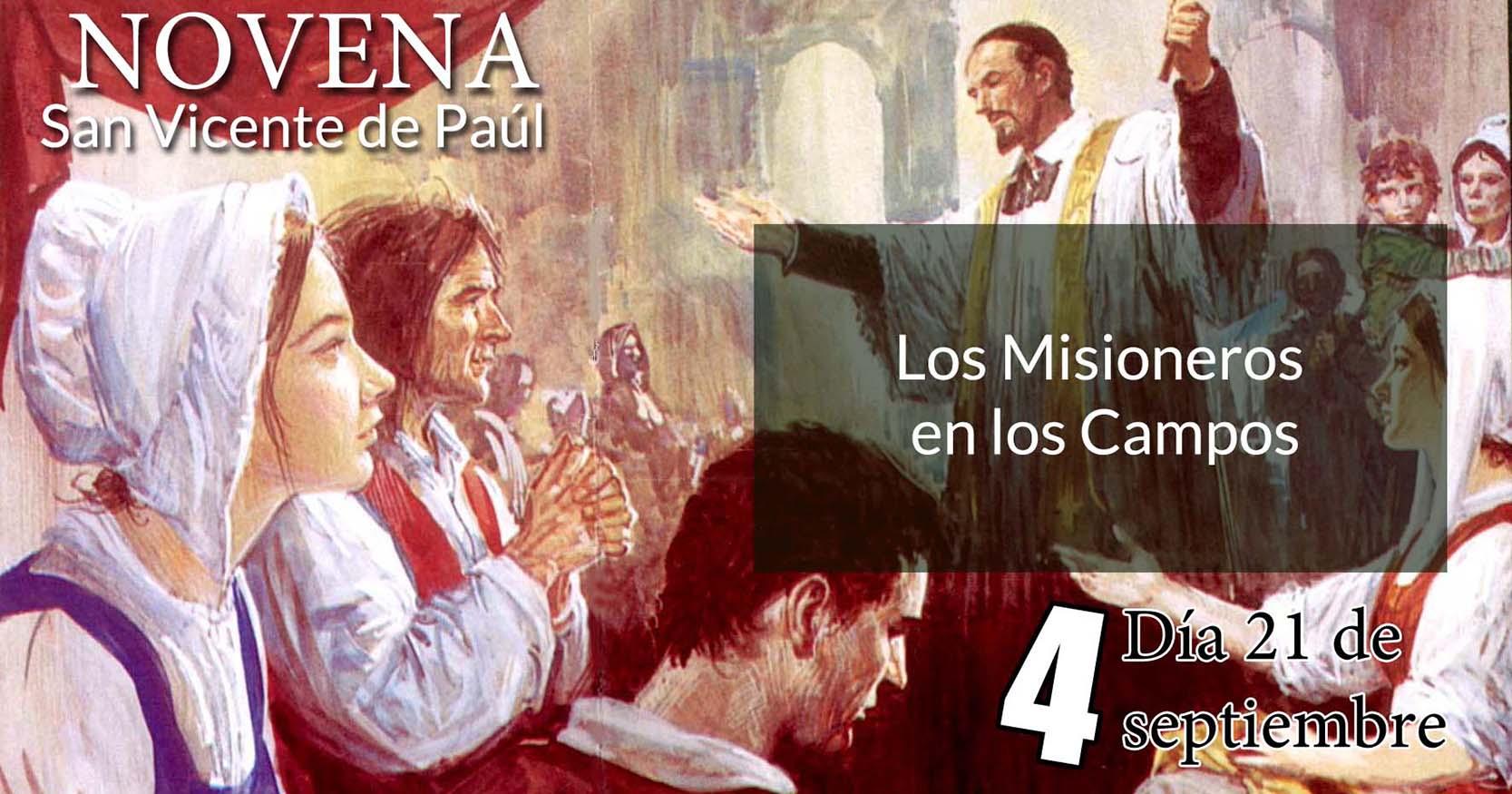 Novena a San Vicente de Paúl: Cuarto Día