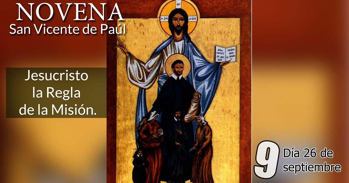 Novena a San Vicente de Paúl: Noveno Día