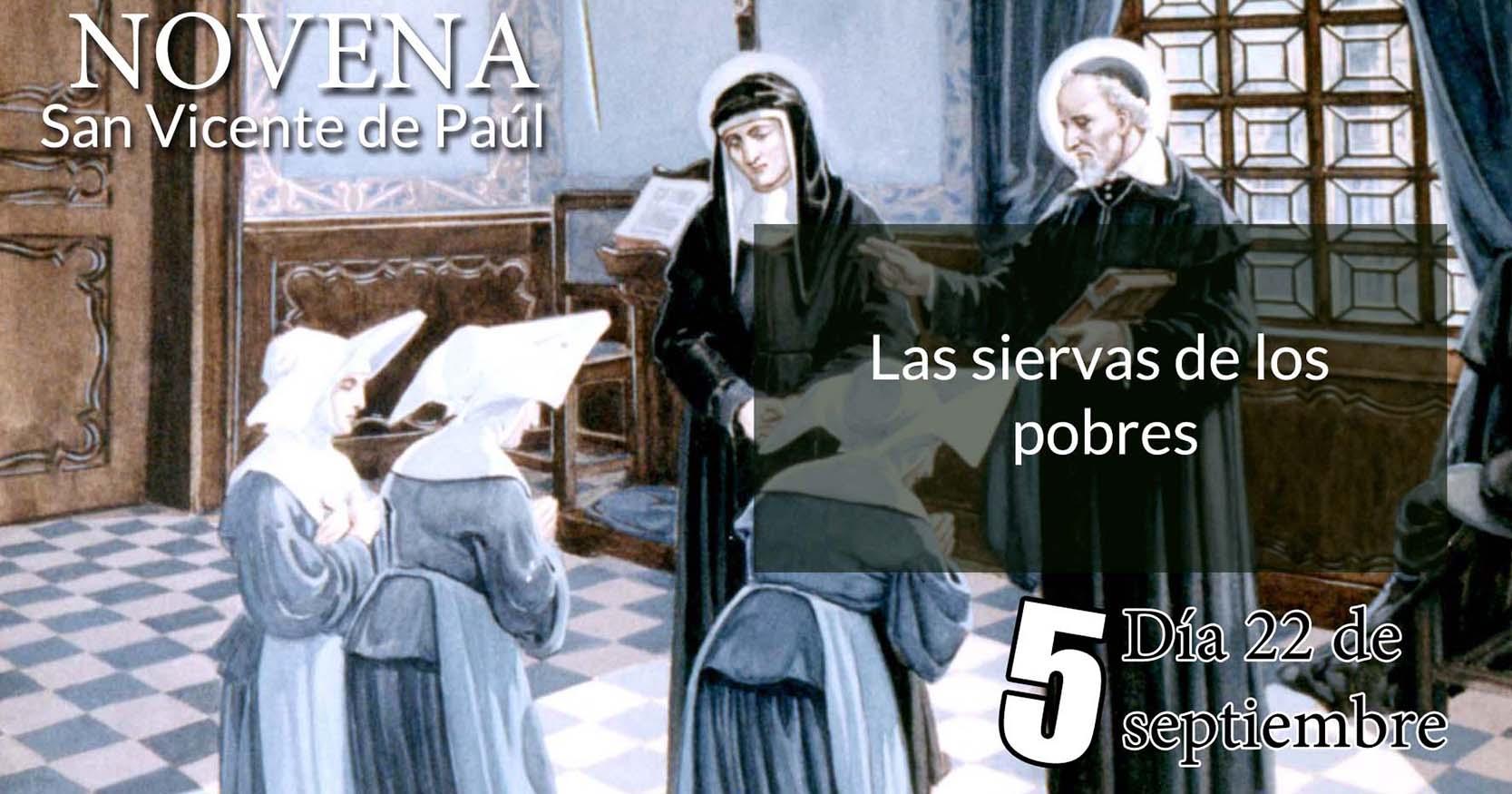 Novena a San Vicente de Paúl: Quinto Día