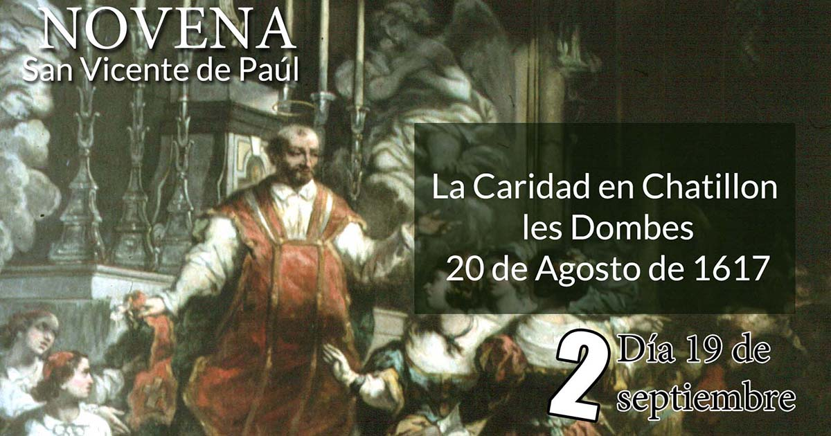 Novena a San Vicente de Paúl: Segundo Día