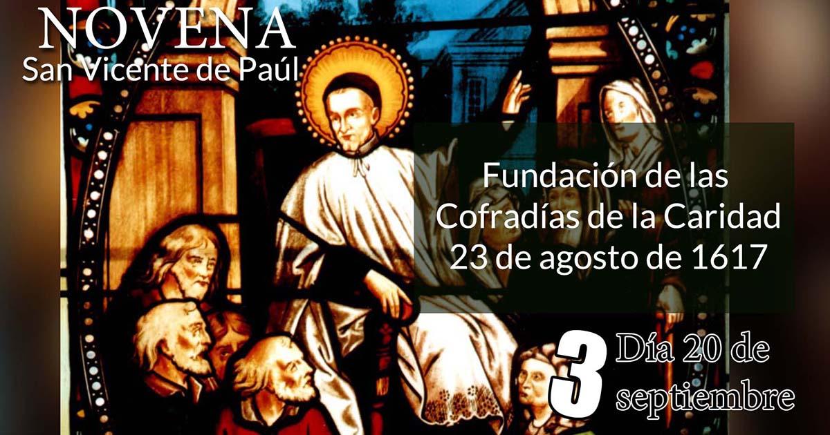 Novena a San Vicente de Paúl: Tercer Día