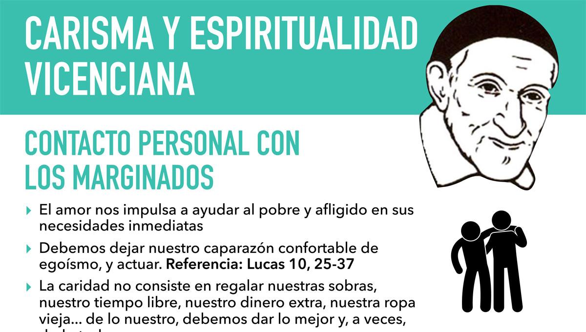 El Carisma Vicenciano: infografía