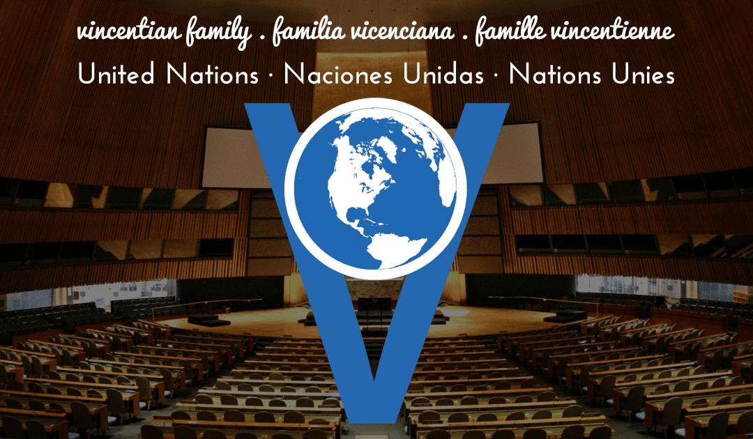 La colaboración entre los representantes ante la ONU de las ramas de la Familia Vicenciana