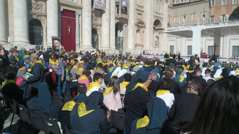 Encuentro de la Familia Vicenciana con el Santo Padre, Roma, 14 de octubre [Video]
