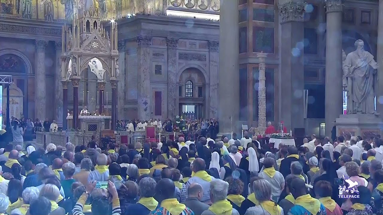 Video de la misa de clausura del simposio de la familia Vicenciana en Roma, 15 de octubre