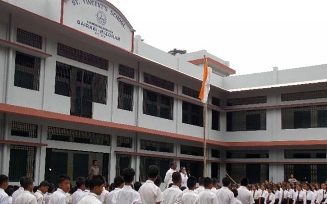 Una escuela vicenciana en Bairabi (India)