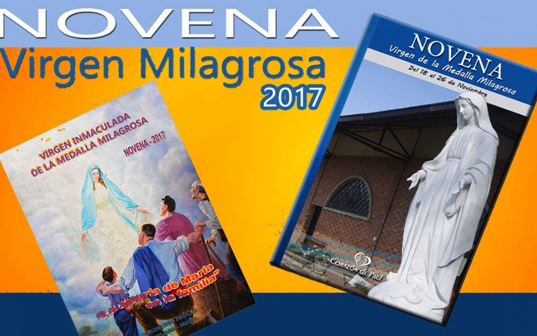 Dos Novenas para La Milagrosa 2017