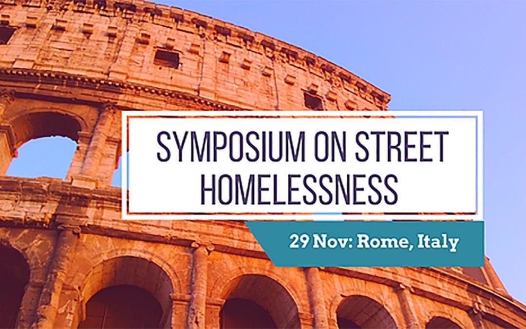 Simposio sobre la falta de vivienda y la Doctrina Social Católica en Roma, Italia