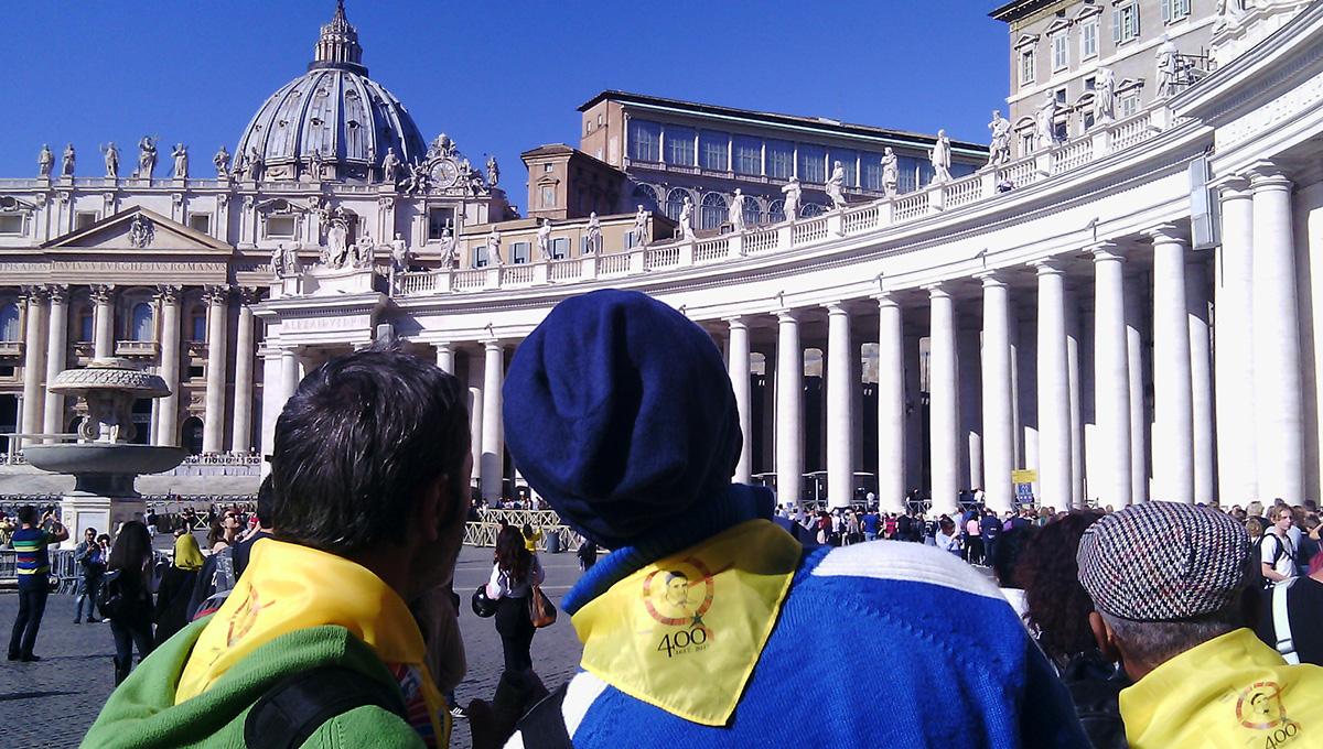 """La """"Caridad"""" de Turin en el Simposio Vicenciano en Roma"""