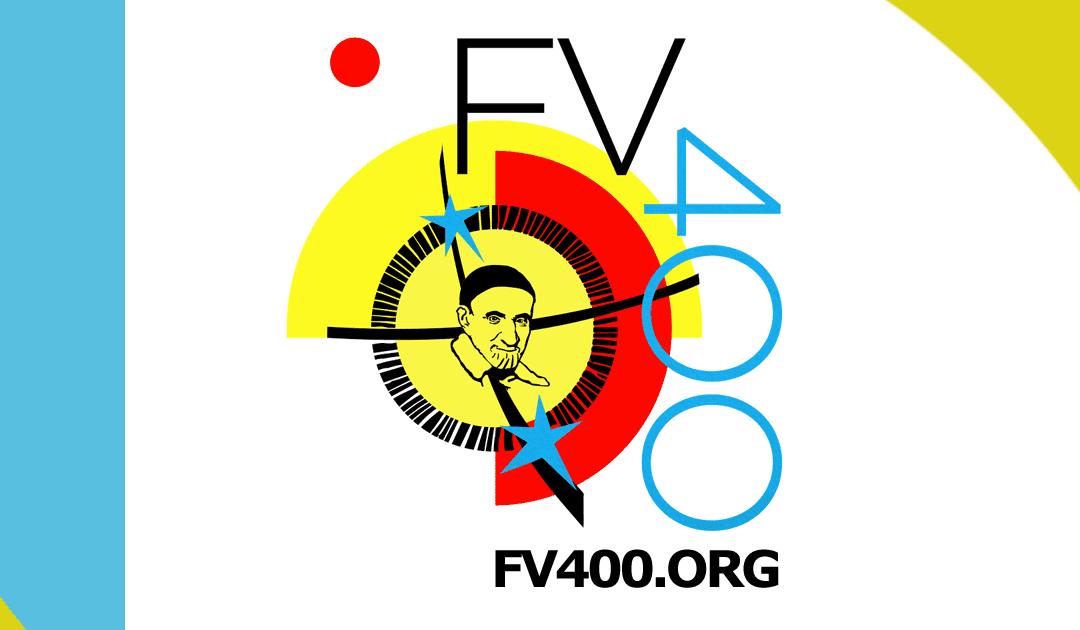 """Logotipo e informaciones sobre el festival y concurso """"Encontrando a Vince 400"""""""