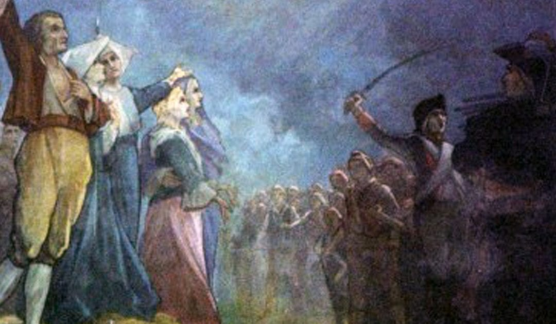 Hoy celebramos la fiesta de las beatas mártires de Angers