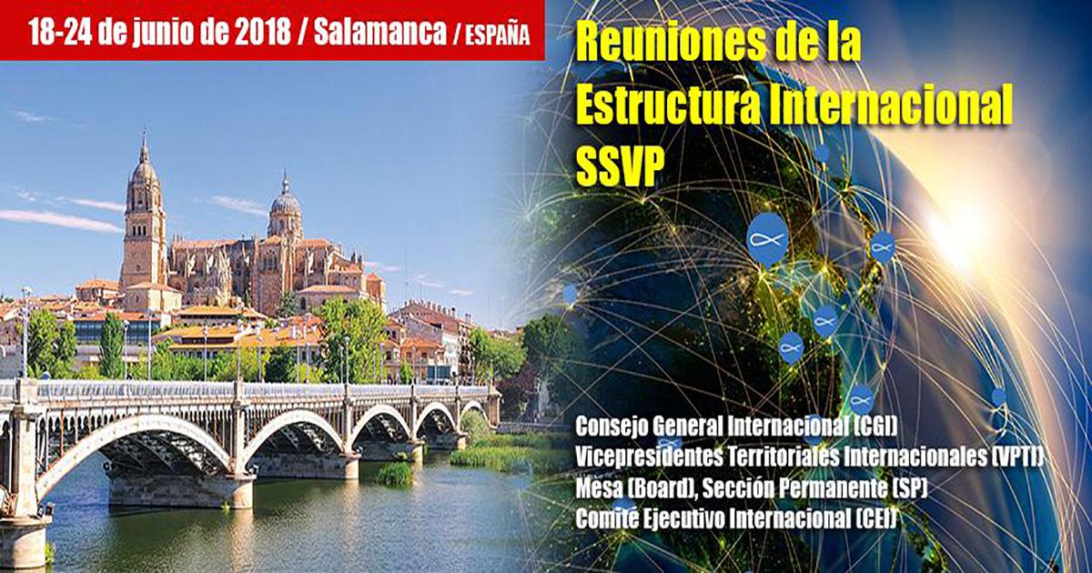 Reuniones de la Estructura Internacional de la Sociedad de San Vicente de Paúl