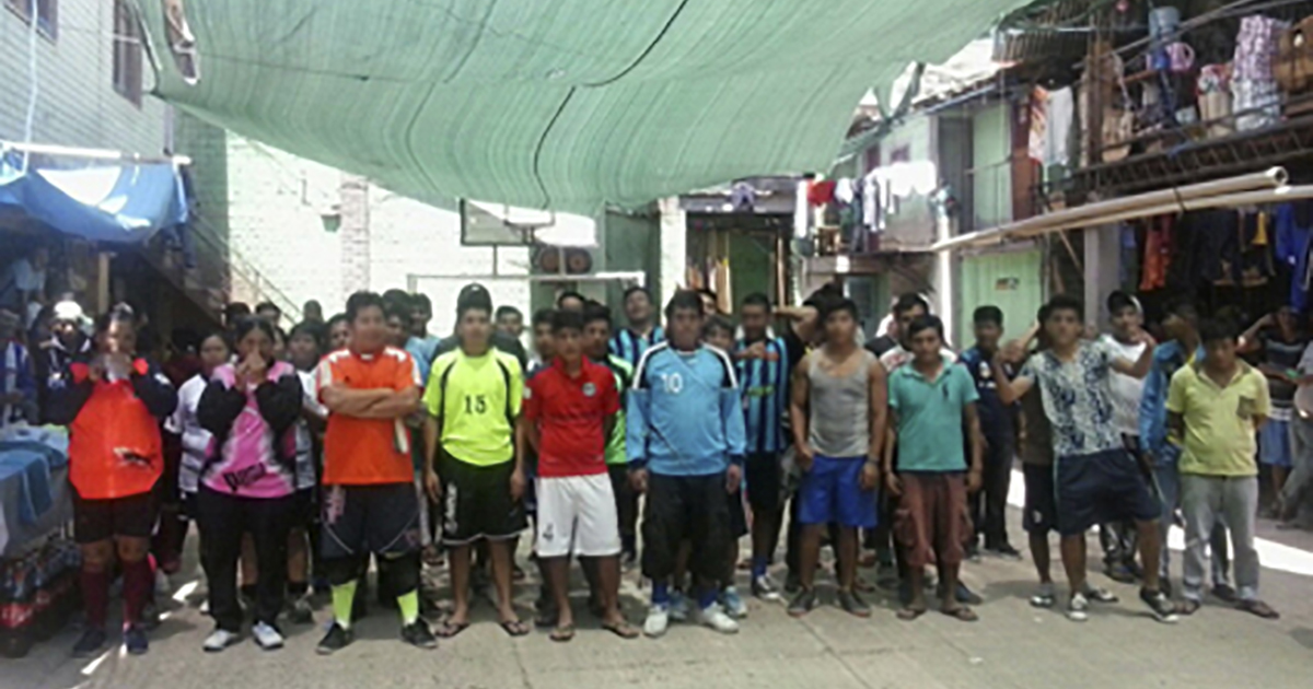 Crónica Campeonato de fútbol en el penal San Pedro de Sacaba (Bolivia)
