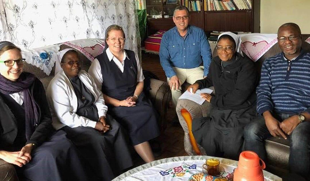 El P. Flavio, de la Oficina de la Familia Vicenciana, visita Etiopía