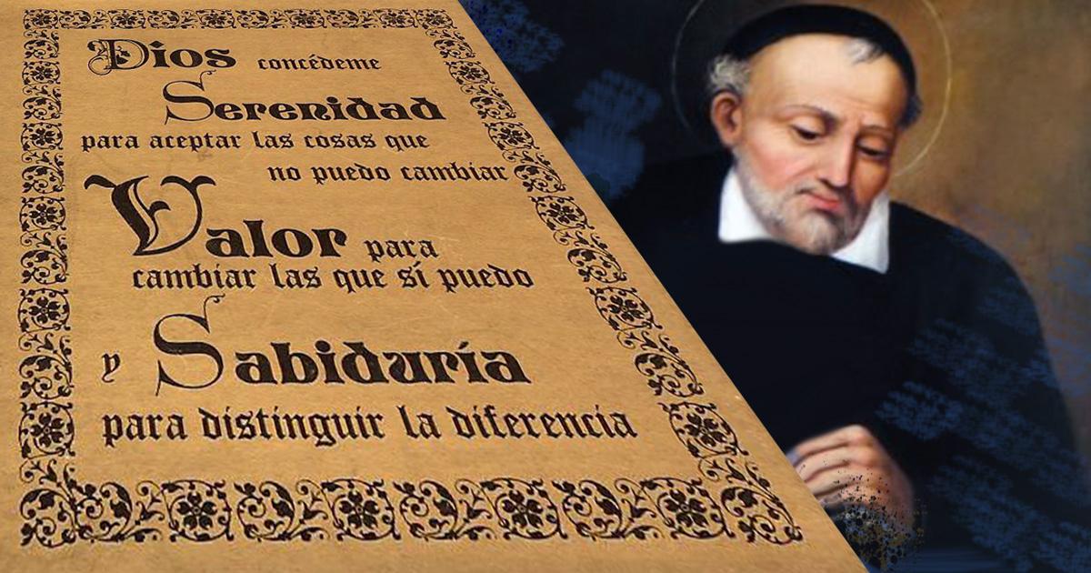 Los Vicencianos y la plegaria de la serenidad