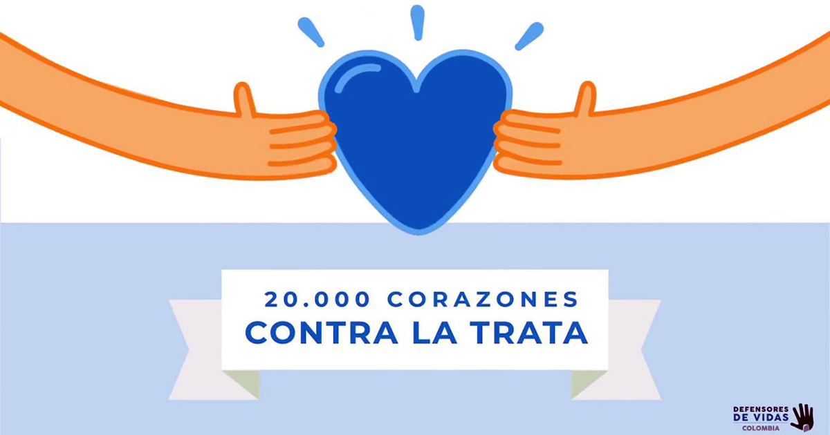20.000 Corazones contra la trata de personas