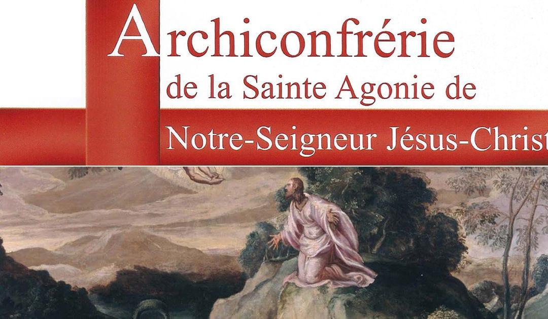 La Archicofradía de la Santa Agonía de Nuestro Señor Jesucristo
