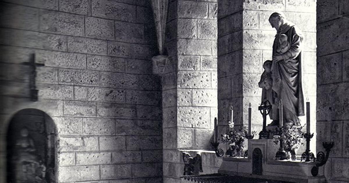 La capilla donde fue ordenado san Vicente de Paúl