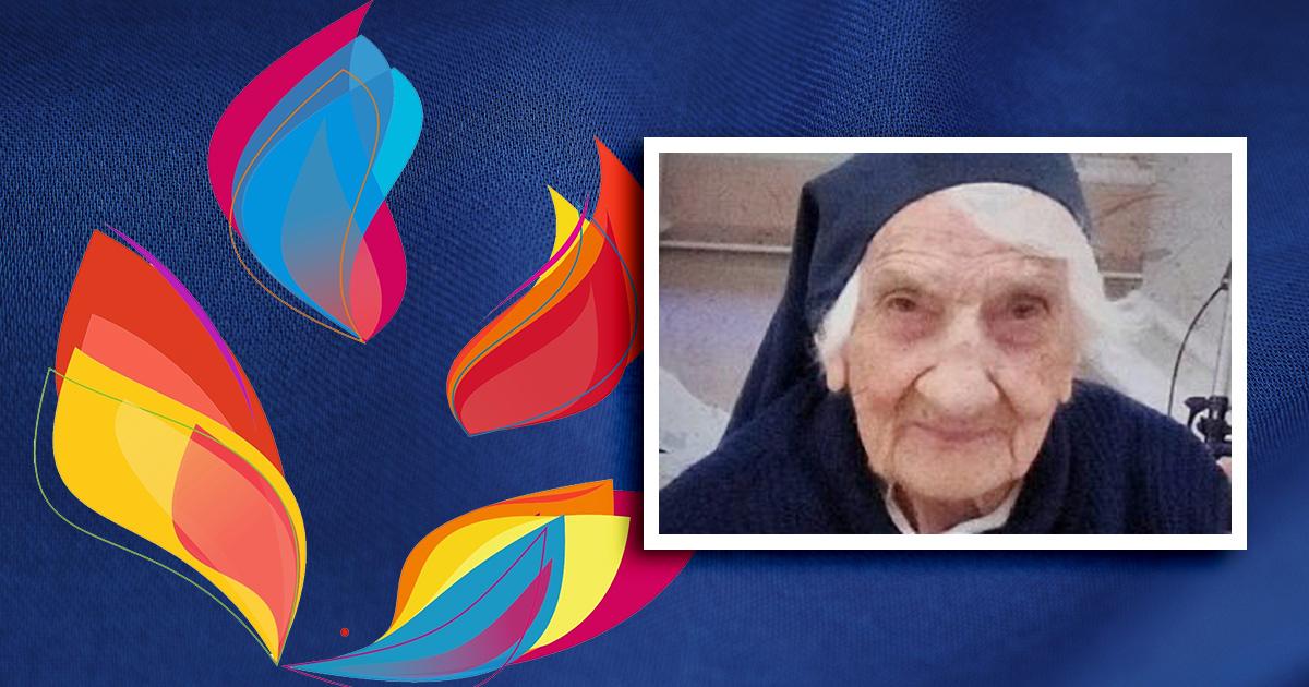 Celebración con Sor Rita, Hija de la Caridad, en sus 103 años