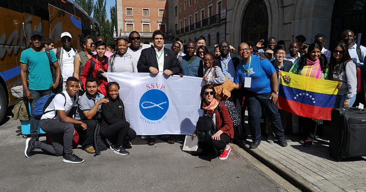 Los jóvenes de la SSVP renuevan en Salamanca su compromiso con necesitados