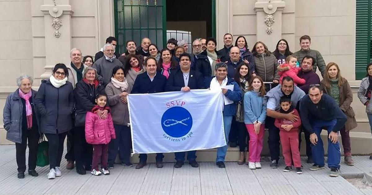 Visita del Presidente General Internacional SSVP a Argentina