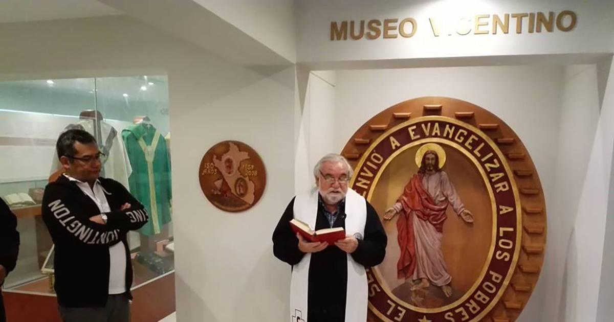 Inauguración del Museo Vicentino – CAVI (Lima, Perú)
