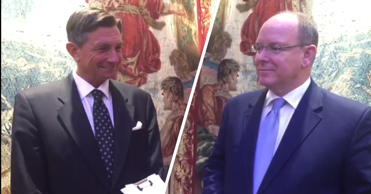 Entrevistas a Borut Pahor, presidente de Eslovenia, y a Alberto II, Príncipe de Mónaco, en apoyo al proyecto Akamasoa