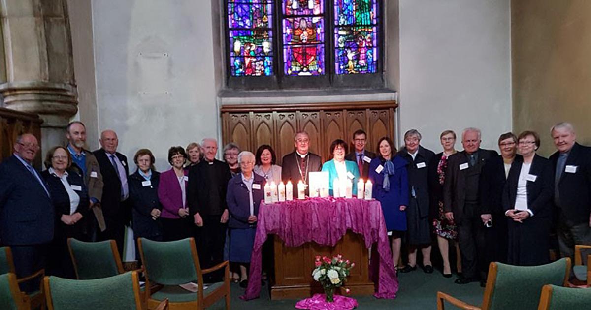 Bendición y constitución del Consejo Nacional de la Familia Vicenciana en Irlanda