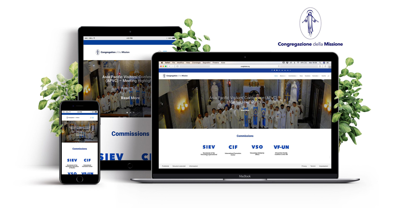 Carta del Superior General presentando el nuevo portal web de la Congregación de la Misión
