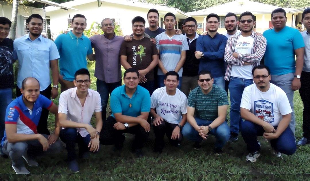 Encuentro de seminaristas vicencianos en Honduras
