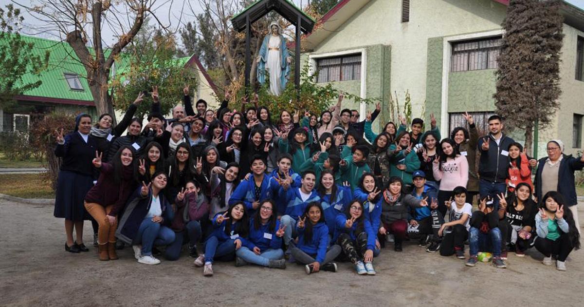 Encuentro de Líderes Vicentinos 2018 en Macul (Chile)