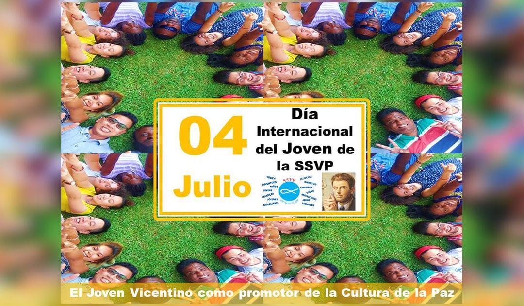 El próximo día 4 de julio, los Jóvenes de la SSVP celebrarán su Día Internacional