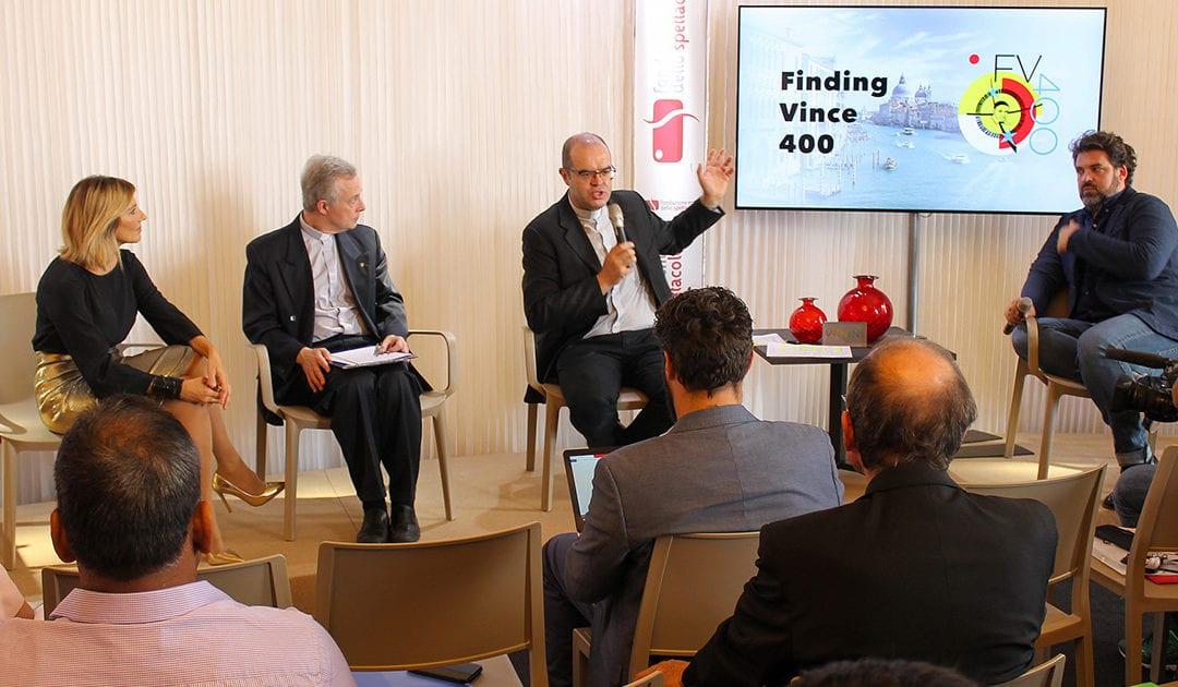 """""""Finding Vince 400"""" – Rueda de prensa en la Bienal de Cine de Venecia"""