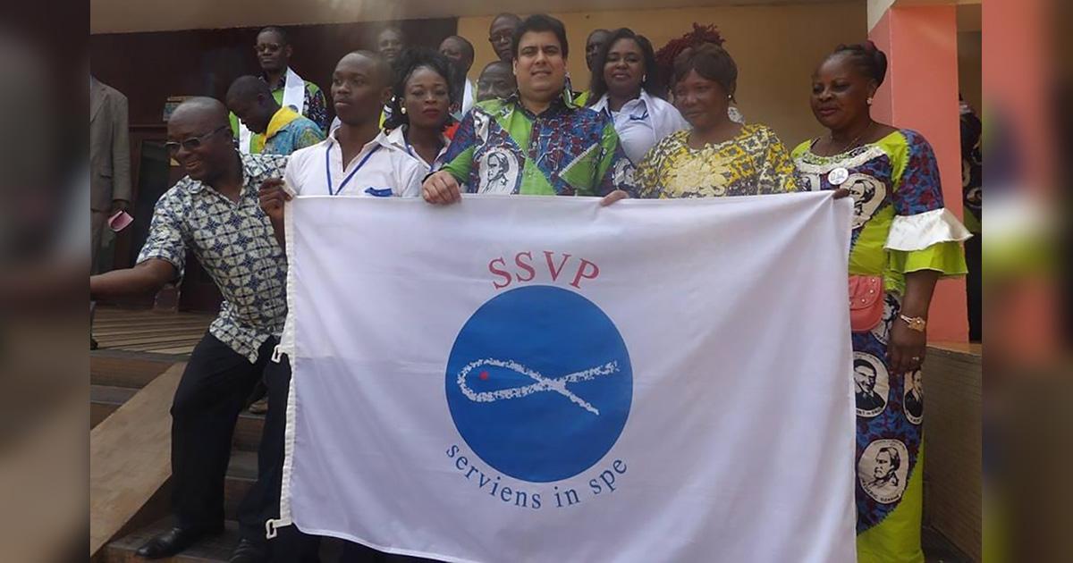 700 nuevos miembros se unen a la SSVP en República Centroafricana