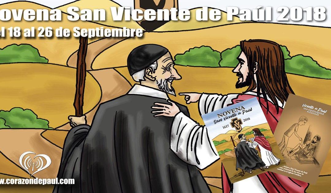 Novena a san Vicente de Paúl 2018: Día 2