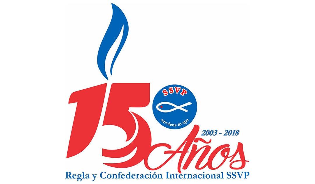 15º aniversario de la Confederación de Sociedades de San Vicente de Paúl y de la Regla Internacional